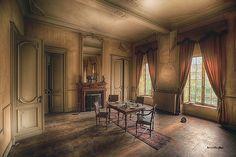 abandoned dining room   Flickr - Photo Sharing!