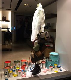 "BURBERRY, Andrassy Avenue, Budapest, Hungary, ""You have your brush, you have your colors, you paint paradise, then in you go"", photo by Visual Merchandising. HU, pinned by Ton van der Veer"