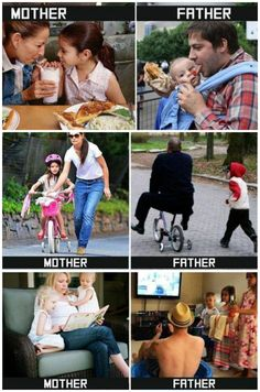 Mother vs Father You are in the right place about Dad Humor quotes Here we offer you the most beautiful pictures about the new Dad Humor you are looking for. When you examine the Mother vs Father part Funny Baby Memes, Very Funny Memes, Funny School Jokes, Some Funny Jokes, Funny Relatable Memes, Funny Babies, Haha Funny, Funny Kids, Funny Facts