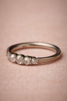 Cinquecento Ring...natural diamonds and 14k white gold palladium
