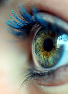 Having pretty natural green eyes