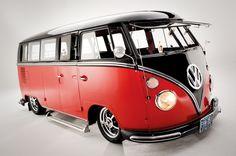 Hot Custom VW Bus