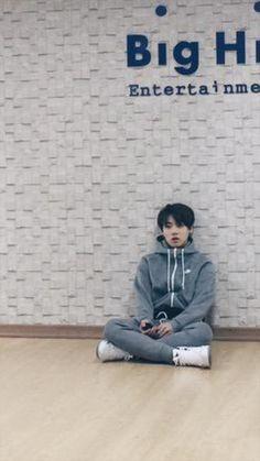 BTS tweet - 150327 practicing for BS Begin Concert