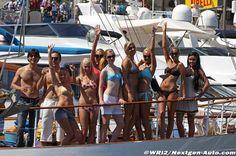 Grand Prix parties on million dollar boats? Ya gotta love Monaco!!! #F1 #Formula1 #Monaco