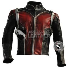 Scott Lang Ant-Man leather costume leather jacket coat / ant-man cosplay jacket