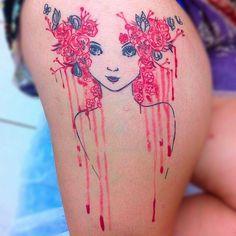 """Tatuagem feita por <a href=""""http://instagram.com/guillystattoo"""">@guillystattoo</a>!  Bom dia, preparados para um domingo cheio de tattoos incríveis? Então vamos começar."""