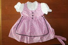 Baby-Dirndl 68/74 von WiesnPrinzessin auf DaWanda.com