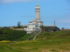 One of the best walks around Santander is from the western end of Santander prom to the Faro de Cabo Mayer and Playa de Matalenas. Santander Spain, Cool Places To Visit, Lighthouse, Statue Of Liberty, The Good Place, Walking, World, Blog, Travel