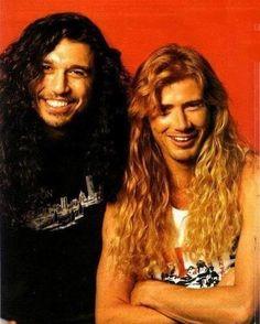 Tom Araya and Dave Mustaine