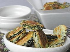 Oven-fried parmesan zucchini rounds...I'm always looking for interesting healthy sides
