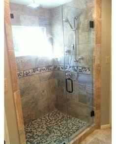 Framless Glass Shower - Home and Garden Design Idea's