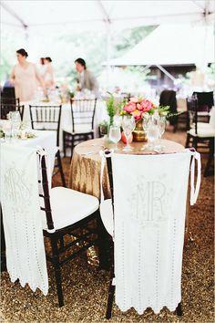 wedding chair signs @weddingchicks
