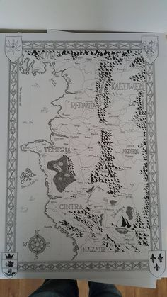 #Witcher Map