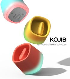Fidget-Friendly Remote Controls KOJIB controller The conceptual KOJIB controller has been designed by TaeHwan Kim as a functional and fun alternative to the traditional remote contro The post Fidget-Friendly Remote Controls appeared first on Design Ideas. Promo Flyer, Color Plan, Industrial Design Sketch, Yanko Design, Photoshop, Cute Designs, Packaging Design, Remote, Design Inspiration