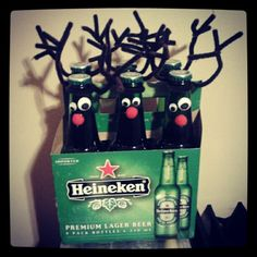 Rein-beer! Great gift for guys on your list.