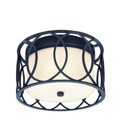 in silver gold... Troy Lighting C1280SG Sausalito Flush Mount | Capitol Lighting 1800lighting.com
