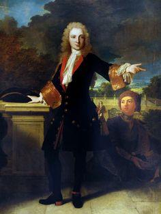 Jean-Baptiste de Roll-Montpellier by Robert Gabriel Gence,1713