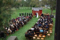 Cobblestone Farm ceremony Ann Arbor