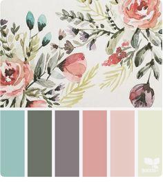 70 Best ideas for bedroom colors ideas grey design seeds Design Seeds, Colour Pallette, Color Combos, Spring Color Palette, Palette Art, Ideias Diy, Color Swatches, Room Paint, Color Theory