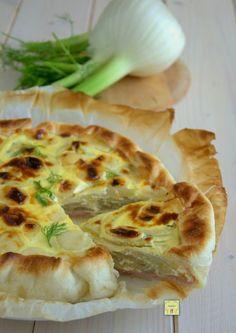 Torta Salata Finocchi e Prosciutto gustosa e irresistibile! #food #ricetta #foodgasm #Pasqua #foodblog #recipe
