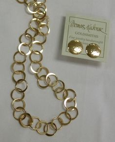 Tom Kuhner gold fill jewelry.