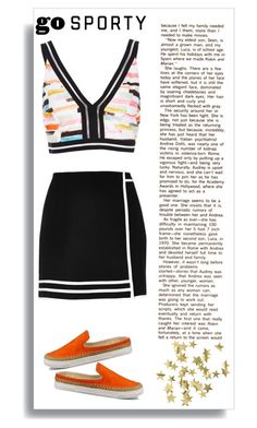 """""""Go Sporty"""" by nonanana ❤ liked on Polyvore featuring River Island, UGG Australia and H&M"""