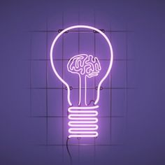 Unique industrial design ideas: These neon signs will elevate your industrial loft or industrial bar Light Art, Tinta Neon, Pink Lila, All Of The Lights, Purple Aesthetic, Purple Rain, Light Purple, Neon Purple, Neon Lighting