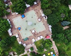 Discover Fort Wayne : 2015-07 IN Aerial Three Rivers 11