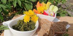 Nicht nur gesund für unser Gehirn ;-) Hier eine lecker Combo mit frischen Gartenkräutern. Health, Brain, Fresh, Healthy Recipes, Meal, Health Care, Salud