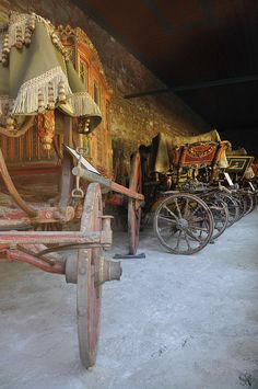18thC Harem Carriages ~ In the Topkapi Palace, Istanbul - by LaValle PDX, via Flickr