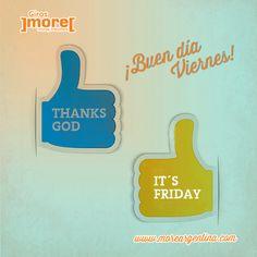 ¿La buena noticia? ➯ ¡No sólo es viernes sino que hasta el mismo viernes está terminando!   Buen fin de semana para tod@s
