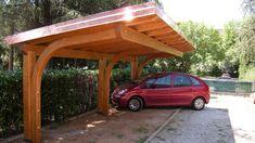 Pergola Over Garage Door Rustic Pergola, Curved Pergola, Small Pergola, Deck With Pergola, Wooden Pergola, Covered Pergola, Pergola Shade, Patio Roof, Pergola Kits
