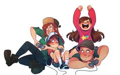 Look at Dipper , look at him! Did I realy do that? OPSI!