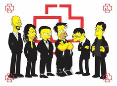 Rammstein @ Simpsons @Philip Williams Williams Russell @David Nilsson Nilsson Serrano