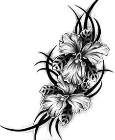 Pictures Of Flower Tattoo Designs - Cliparts.co
