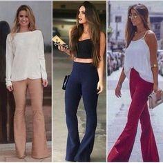 WEBSTA @ lojapartystyle_ - Vendas pelo site: Calça flare de bandagem acetinada P M G GG 130,00 reais em 3 x FRETE GRÁTISSite: LOJA.PARTYSTYLE.COM.BR*_____#follow4follow #follow #followme #instagay #instagood #instalike #likes #fashion #tendencia #trend #verao #summer #ss16 #sale #promocao #gift #presente #vendasonline #ecommerce #lojavirtual #vestidodebandagem #bandagem #vestidodefranja #calcaflare #calcaflarebandagem