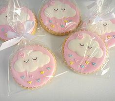 Martha Aguirre Abensur's media content and analytics Fancy Cookies, Iced Cookies, Cupcake Cookies, Sugar Cookies, Cupcakes, Rainbow Birthday, Baby Birthday, Birthday Parties, Cake Rainbow