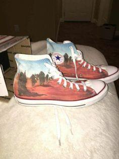 """Sleep Weedian """"Dopesmoker"""" Shoes"""