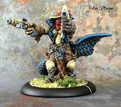 Privateer Press Warmachine Hordes Trollbloods Braylen Wanderheart, Trollkin Outlaw
