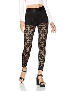 AmazonSmile: Smitten Women's Boyshort Sheer Lace Legging: Clothing