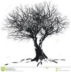 winter tree silhouettes - Google Search