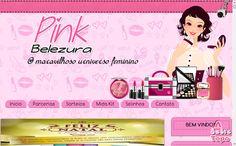Pinkbelezura: Pink Belezura ganha novo template e está de cara n...