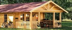 Cabin Life - Affordable Housing Deluxe Granny Flat - Spa Or Sauna Cabin 2015 Eco Cabin, Timber Cabin, Tiny House Kits, Portable Cabins, Guest Cabin, Kabine, Granny Flat, Cabins And Cottages, Eco Friendly House