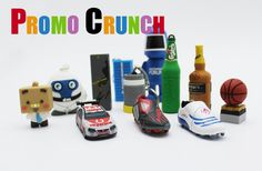 Attention Marketers. Promo Crunch. Turns your logo, product or idea into a cool custom shaped USB Flash Drive.