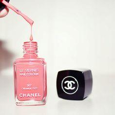 Chanel peach