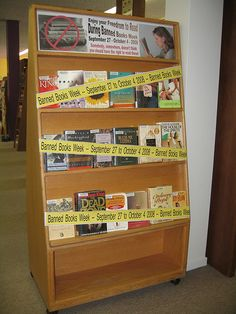 Banned Books Week  @Natalie Couch we could caution the windows