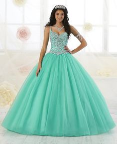 Beaded Sweetheart Quinceanera Dress by Fiesta Gowns 56351 Beaded Sweetheart Quinceanera Dress by Fiesta Gowns of Wu Fiesta Gowns-ABC Fashion Sweet 15 Dresses, Pretty Dresses, Beautiful Dresses, Ball Gowns Prom, Ball Gown Dresses, Prom Dresses, Teal Quinceanera Dresses, Quince Dresses Teal, Princess Ball Gowns