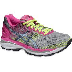 Asics Women s Gel-Nimbus 18 Shoes (Silver 5952346c8a0ed