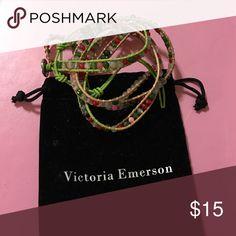 Victoria Emerson wrap bracelet Never worn Victoria Emerson Jewelry Bracelets