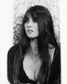 One of Hammer Films more memorable sirens, Caroline Munro started her career as a model before being offered small parts in various movies like Casino Royale and A Talent for Loving. In 1971, she starred along with Vincent Price in The Abominable Dr. Phibes, and the following year she appeared in the sequel, Dr. Phibes Rises Again.